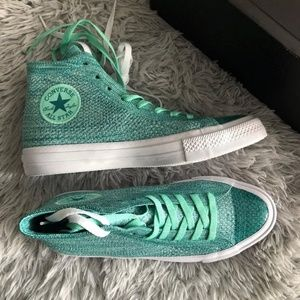 0bef62dfdb8975 Converse Shoes - Converse Chuck Taylor All Star x Nike Flyknit Hi